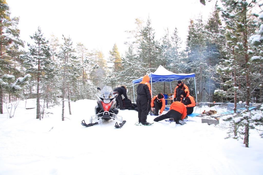 Snowshoetour Helsinki