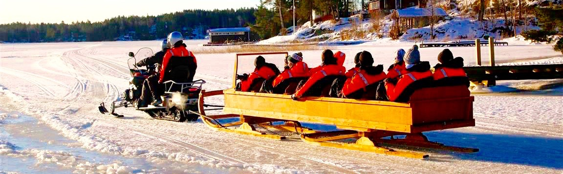 snowmobile sleigh