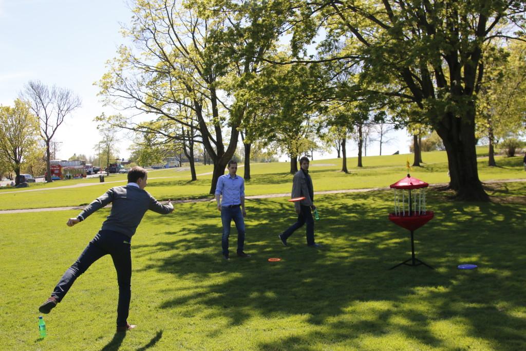 Frisbee golf Kaivopuisto