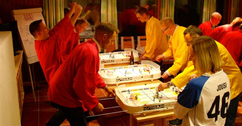 Pöytälätkä turnaus aktiviteetti