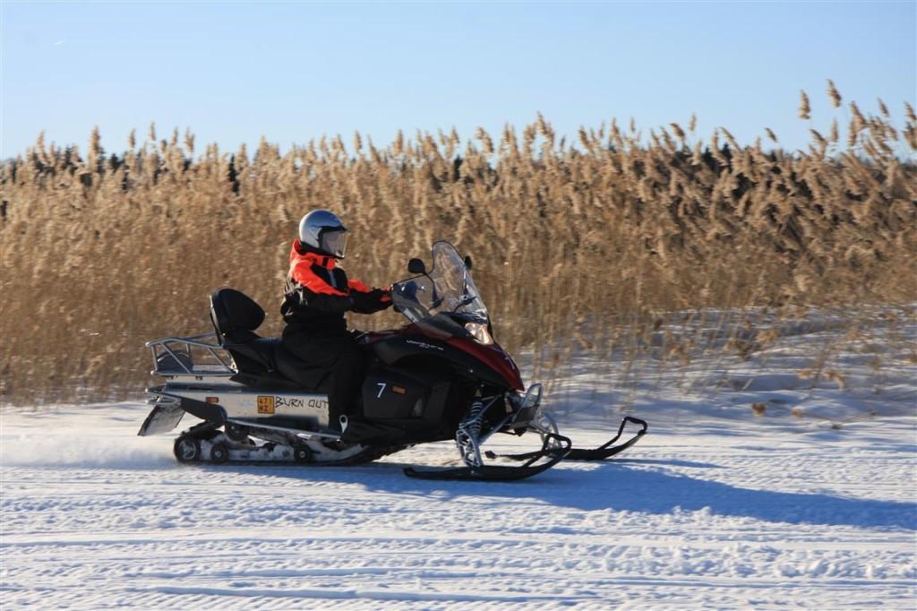 kelkkasafari helsinki #snowmobile helsinki
