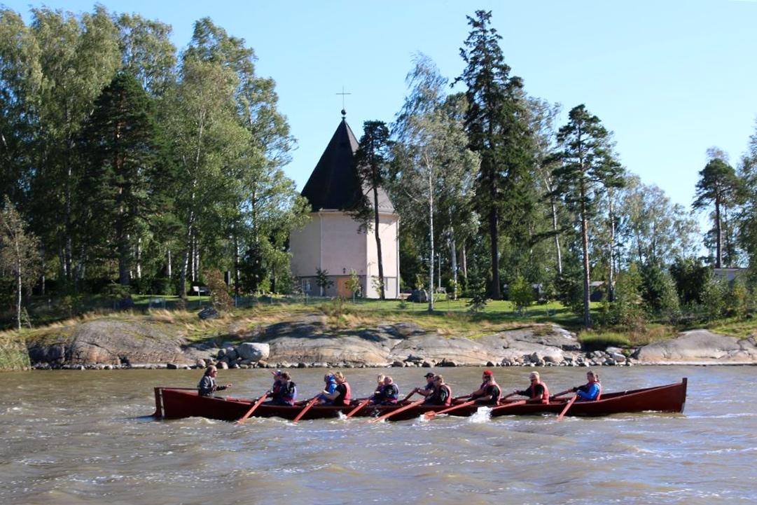 kirkkovene aktiviteetti