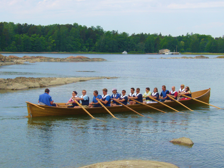 kirkkovene soutu aktiviteetti