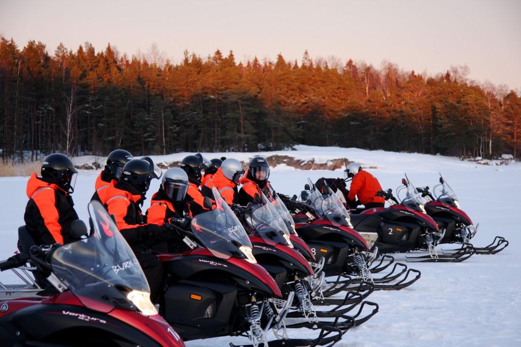 snowmobile Helsinki