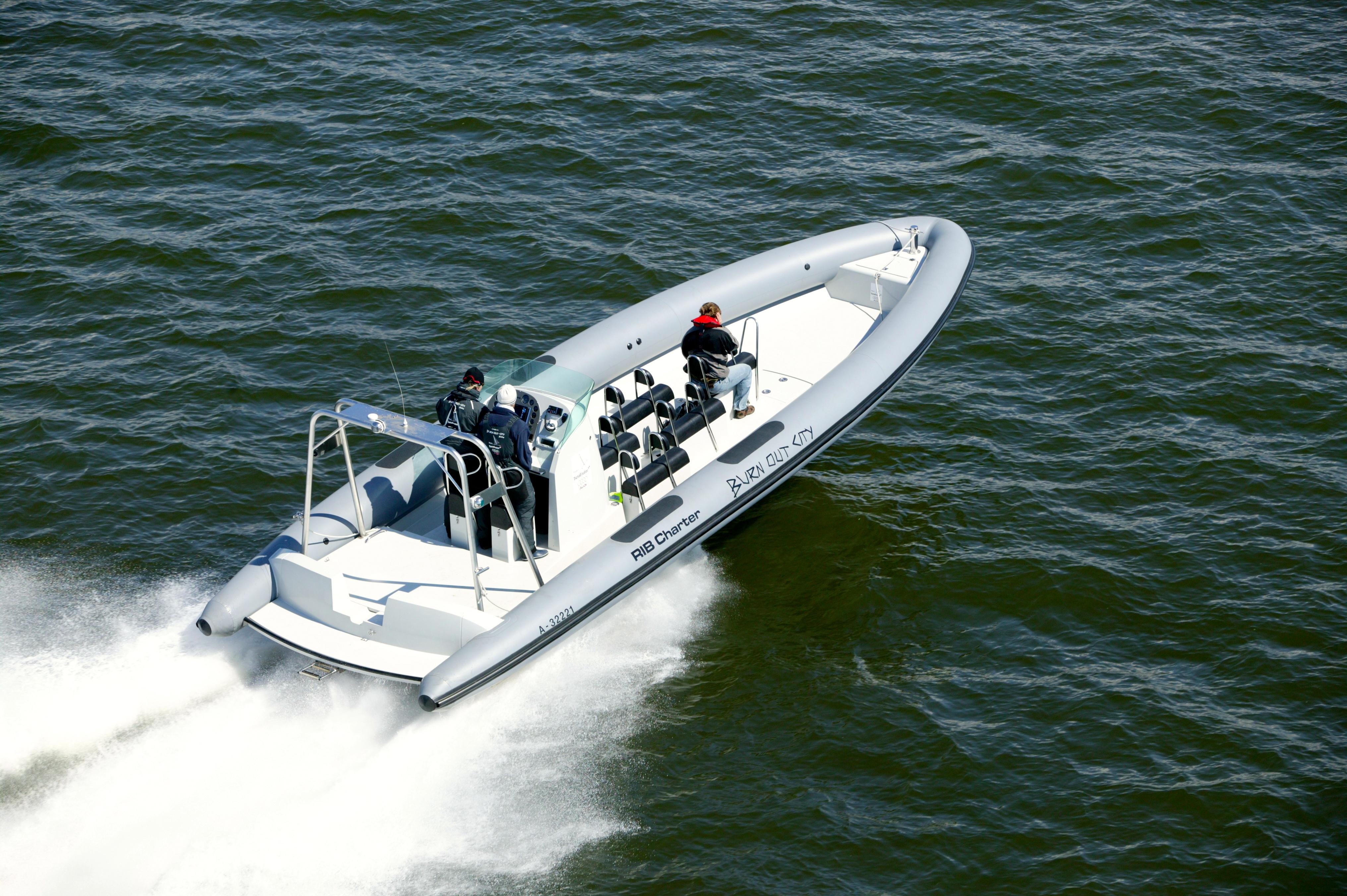 RIB tenderboat
